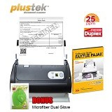 PLUSTEK SmartOffice PS286 Plus + Software Scan Faktur Pajak - Scanner Automatic Feeding / ADF