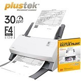 PLUSTEK SmartOffice [PS396] + Software Scan Faktur Pajak - Scanner Multi Document