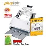 PLUSTEK SmartOffice [PS406] + Software Scan Faktur Pajak - Scanner Automatic Feeding / ADF