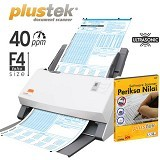PLUSTEK SmartOffice [PS406U] + Software LJK - Scanner Multi Document