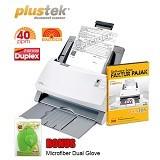 PLUSTEK SmartOffice [PS406U] + Software Scan Faktur Pajak - Scanner Automatic Feeding / ADF