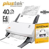 PLUSTEK SmartOffice [PS406U] + Software Scan Faktur Pajak - Scanner Multi Document