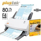 PLUSTEK SmartOffice [PS456U] + Software LJK - Scanner Multi Document