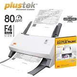 PLUSTEK SmartOffice [PS456U] + Software Scan Faktur Pajak - Scanner Multi Document