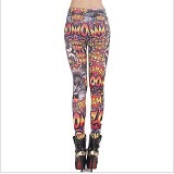 POCABELA Comic Legging Multi Colour (Merchant) - Legging Wanita