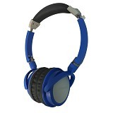 POLAROID On Ear Headphone [PR-H096-BU] - Blue (Merchant) - Headphone Portable