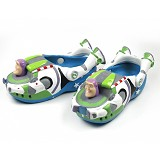 POLLIWALKS Clogs Buzz Light Year Size 8 [BZ-745] - Blue - Sepatu Anak