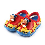 POLLIWALKS Clogs Mickey Mouse Size 10 [BZ-719] - Red - Sepatu Anak