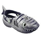 POLLIWALKS Clogs Shark Size 6 [BZ-731] - Navy - Sepatu Anak