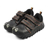 POLLIWALKS Shoes Centipede Size 12 [BZ-744] - Black Orange - Sepatu Anak