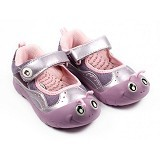 POLLIWALKS Shoes Inchee Size 9 [BZ-739] - Purple - Sepatu Anak