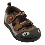 POLLIWALKS Shoes Lizard Size 7 [BZ-738] - Brown - Sepatu Anak