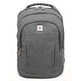 POLO CLASSIC Tas Ransel [J785-34] - Grey - Notebook Backpack