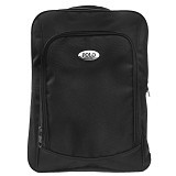 POLO USA Boxy Laptop Backpack + Rain Cover - Black (Merchant) - Notebook Backpack