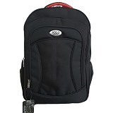 POLO USA Edward Laptop Backpack - Hitam (Merchant) - Notebook Backpack