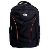 POLO USA Stingray Laptop Backpack - Hitam (Merchant) - Notebook Backpack