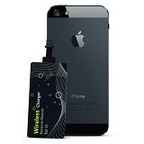 POWERQI Receiver Card for Apple iPhone 5/5s - Black (Merchant) - Gadget Activity Device
