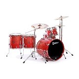 PREMIER Maple Shell Drum Kit XPK Series [ROCK KIT] - Blueburst Lacquer - Drum Kit