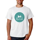 PRINT N WEAR Be Kind Size M - Kaos Pria