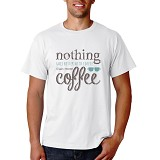 PRINT N WEAR More Coffee Size M - Kaos Pria