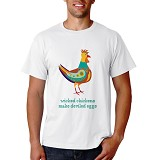 PRINT N WEAR Wicked Chicken Size XL - Kaos Pria