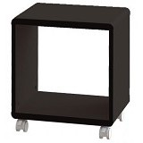 PRISSILIA Shape Night Stand - Black - Rak Mini