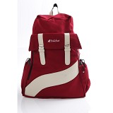 PULCHER Backpack Ransel Vorto - Maroon - Backpack Wanita