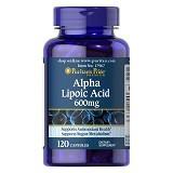 PURITANS PRIDE Alpha Lipoic Acid 600mg 120 Kapsul [BMBIOCC-62] - Suplement Peningkat Metabolisme Tubuh