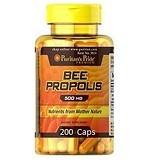 PURITANS PRIDE Bee Propolis 500mg 200 Caps [PPBP100CAPS] - Suplement Peningkat Metabolisme Tubuh