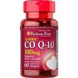 PURITANS PRIDE Coenzyme Q10 100mg 60 Caps [PPCOQ10200MG60C] - Suplement Pencegah Penyakit Jantung / Kolesterol