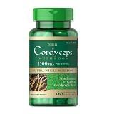 PURITANS PRIDE Cordyceps/Muncord 1500 mg - 60 Kapsul [BMBIOC-C2] - Suplement Penambah Daya Tahan Tubuh