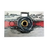 Papershoot Digital Camera - Classic Red (Merchant) - Camera Pocket / Point and Shot