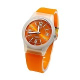 Q&Q Watch [VQ50] - White Aprciot (Merchant) - Jam Tangan Wanita Fashion