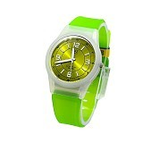 Q&Q Watch [VQ50] - White Avocado (Merchant) - Jam Tangan Wanita Fashion