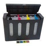 Q STORE Tabung Infus 4 Warna [L100] - Printer Empty Cartridges