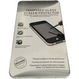 QC Tempered Glass for Apple  iPhone 5 Back Transparant - Screen Protector Handphone