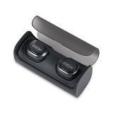 QCY Mini Bluetooth 4.1 Headphones Wireless Earbuds [Q29] - Black (Merchant) - Headset Bluetooth