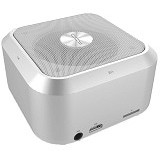 QCY Speaker Cube Magnesium Alloy Body [Qq200] - White (Merchant) - Speaker Bluetooth & Wireless