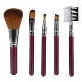 QUEEN OF THE SHINE Kuas Make Up Set 001 [KM001] - Maroon (Merchant) - Kuas Make-Up
