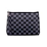 QUINTA Cubicle Pouch Bag - Black Chess - Clutches & Wristlets Wanita