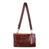 QUINTA Hpo Shiny MaTching - Soft Brown - Clutches & Wristlets Wanita