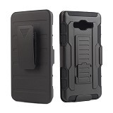 R-CASE Future Armor Hardcase with Belt Clip Holster Case for Samsung Galaxy A3 - Casing Handphone / Case