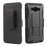 R-CASE Future Armor Hardcase with Belt Clip Holster Case for Samsung Galaxy A8 - Casing Handphone / Case