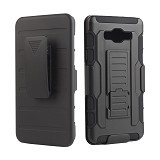 R-CASE Future Armor Hardcase with Belt Clip Holster Case for Samsung Galaxy Ace 4 - Casing Handphone / Case