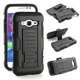 R-CASE Future Armor Hardcase with Belt Clip Holster Case for Samsung Galaxy Core Prime - Casing Handphone / Case