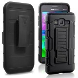 R-CASE Future Armor Hardcase with Belt Clip Holster Case for Samsung Galaxy E5 - Casing Handphone / Case