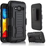 R-CASE Future Armor Hardcase with Belt Clip Holster Case for Samsung Galaxy J3 - Casing Handphone / Case