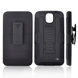 R-CASE Future Armor Hardcase with Belt Clip Holster Case for Samsung Galaxy Mega 2 - Casing Handphone / Case