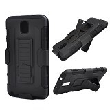 R-CASE Future Armor Hardcase with Belt Clip Holster Case for Samsung Galaxy Note 3 - Casing Handphone / Case
