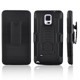 R-CASE Future Armor Hardcase with Belt Clip Holster Case for Samsung Galaxy Note 4 - Casing Handphone / Case